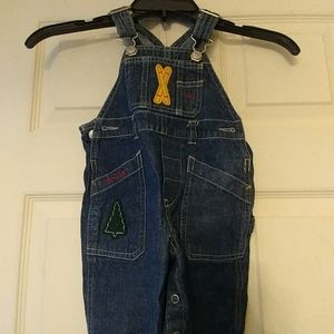 Baby Gap Jean Overall with Winter Appliques